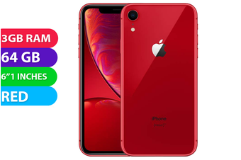 Apple iPhone XR 4G LTE (64GB, Red) - Used as Demo