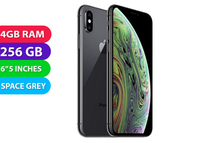 Apple iPhone XS Max 4G LTE (256GB, Space Grey) - Used as Demo