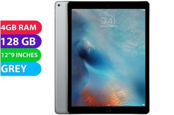 "Apple iPad PRO 12.9"" 1st Gen Wifi (128GB, Space Grey) - Used as Demo"