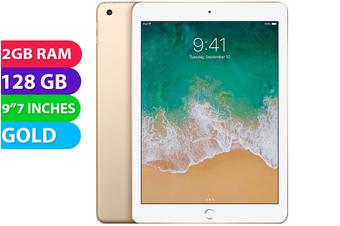 """Apple iPad 5 9.7"""" 2017 Wifi (128GB, Gold) - Used as Demo"""