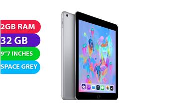 """Apple iPad 6 Wifi 9.7"""" (32GB, Space Grey) - Used as Demo"""