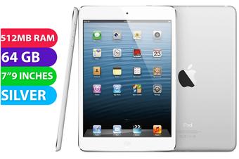 Apple iPad Mini Wifi + Cellular (64GB, Silver) - Used as Demo
