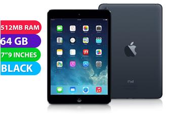 Apple iPad Mini Wifi + Cellular (64GB, Black) - Used as Demo