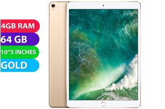 """Apple iPad PRO 10.5"""" Wifi (64GB, Gold) - Used as Demo"""