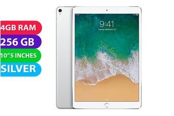 "Apple iPad PRO 10.5"" Wifi + Cellular (256GB, Silver) - Used as Demo"