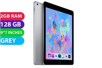 """Apple iPad 6 9.7"""" Wifi (128GB, Space Grey) - As New"""