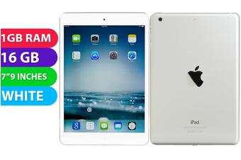 Apple iPad Mini 2 Wifi (16GB, White) - As New