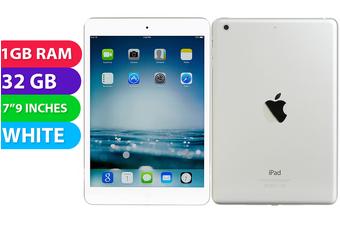 Apple iPad Mini 2 Wifi (32GB, White) - As New