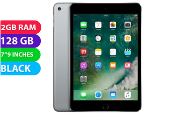Apple iPad mini 4 Wifi (128GB, Black) - Used as Demo