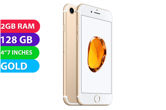 Apple iPhone 7 4G LTE (128GB, Gold) - As New