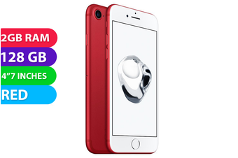 Apple iPhone 7 4G LTE (128GB, Red) - As New
