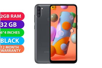 Samsung Galaxy A11 Dual SIM 4G LTE (2GB RAM, 32GB, Black) - FREE DELIVERY