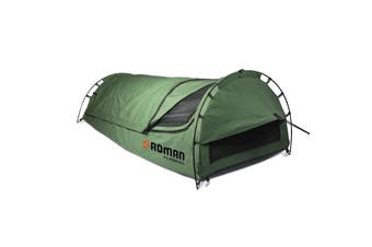 Camping Swag / Tent Flinders King Single Swag Ultra-tough Canvas  3 Pole Dome