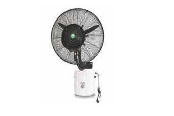 Mist Fan Wall Mounted Misting Fan Industrial Workshop Outdoor Cooling 660mm 260W