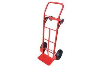 Hand Trolley Cart 250kg Load Truck Supermarket Office Warehouse Goods Transport