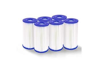 Set of 6 Pool Filter Cartridge 14.2 cm x 25.4 cm