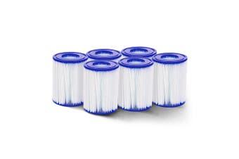 6x Pool Filter Cartridge 10.6cm x 13.6cm Set of 6 pieces