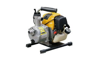 "1"" Water Transfer Pump 1 inch Petrol Portable Cromtech 4Stroke engine Irrigation"