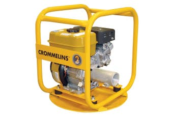 Drive Unit Crommelins Petrol 6HP drive submersible pumps & concrete vibrators