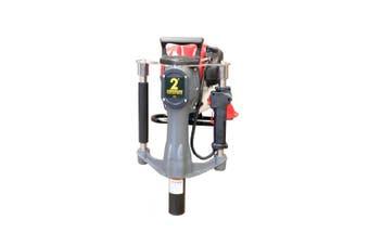 Petrol Post Driver Star Picket Honda Engine GX35 4 stroke Crommelins Fence Post