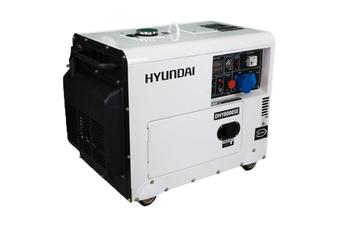 Diesel Generator 8 kVA Quiet Silent Power 13HP Hyundai E-Start & Remote Start