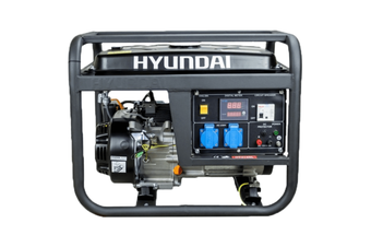 Portable Generator 4 kVA / 3300 W Max Hyundai Engine Petrol Powered Camping Home