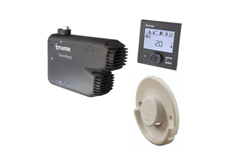 Caravan Gas Heater Truma VarioHeat Eco Kit LPG Quick Heating with Cream Cowl