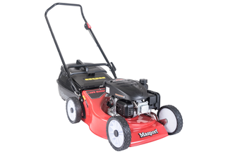 "Push Lawn Mower 18"" 46cm Masport S18 Cut Catch Mulch Petrol 139cc 4Stroke engine"