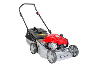"""18"""" Push Lawn Mower 46cm Catch & Mulch 2n1 Briggs&Stratton Li-ion Electric Start"""