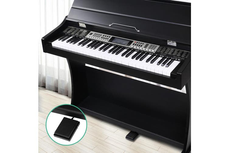 Digital Piano 61 Keys with Pedal, Music Stand, Power Adaptor and Keyboard Cover