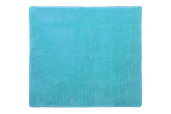 Shaggy Rug 200x230cm Turquoise