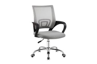 Office Chair Mesh Mid Back Computer Home Office Chair - Grey