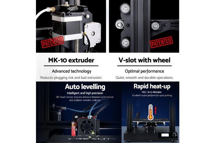 3D Printer Creality CR-20S Pro Large Printing Auto Levelling 220x220x250mm