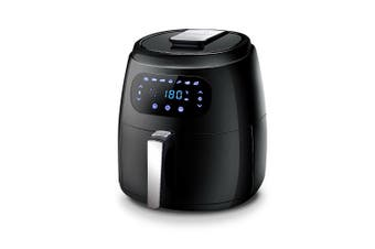Air Fryer 8.5L LCD Digital 1800W Oil Free Deep Frying Cooker with Accessories