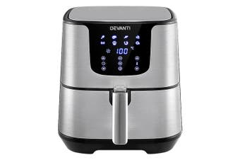 Air Fryer 7L LCD Fryers Oil Free Oven Airfryer 1700W Kitchen Healthy Cooker