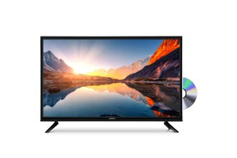 "24 inch LED TV 24"" with Built-In DVD Player, USB HDMI, Auto Sleep Timer"