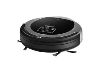 Robotic Vacuum Cleaner For All Types of Floors & Carpets - Black & Grey