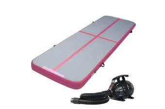 Air Track Gymnastics Airtrack Mat Inflatable 3m x 1m with Electric Air Pump