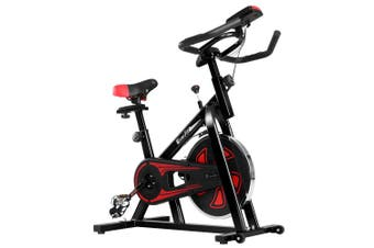 Exercise Bike 13kg Flywheel Spin Bike Home Gym Exercise Equipment - Black
