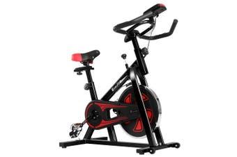 Exercise Bike 13kg Flywheel Spin Bike Home Gym Exercise Equipment - Black