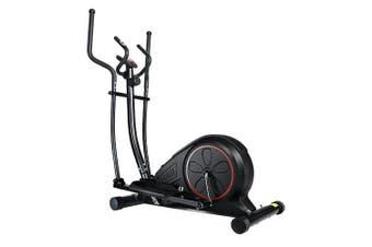 Elliptical Cross Trainer Exercise Bike Multi Function Adjustable Resistance