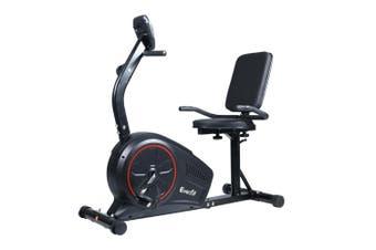 Recumbent Exercise Bike Magnetic Brake Gym Cardio Equipment 8 Level Resistance
