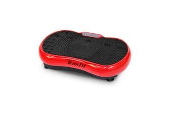 Vibration Machine Plate Platform Body Shaper Home Gym Fitness Red