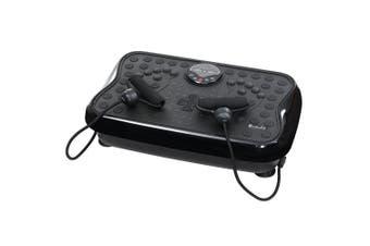 Vibration Machine Platform Fitness Plate Vibration Exercise for Home Gym - Black