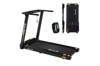 Treadmill Running Machine Home Fitness Foldable 420mm Belt Bonus Fitness Tracker