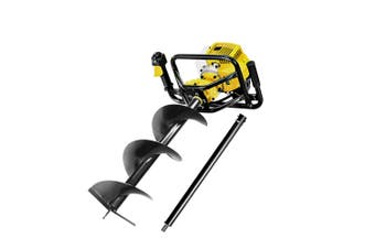 Petrol Post Hole Digger 88cc with 300mm Earth Auger Drill Borer Fencing Farm