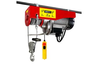 Electric Hoist Winch 1200W 300 / 600kg Single and Double Rope Lifting
