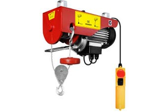 Electric Hoist Winch 400kg / 800kg 1300W Single and Double Rope Lifting