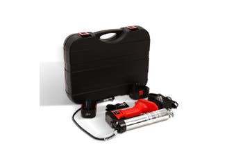Grease Gun Cordless 20V Rechargeable Battery with Charger & Carry Case