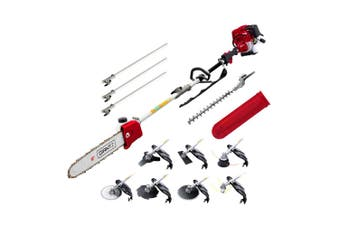 Whipper Snipper Brush Cutter Trimmer Chainsaw Petrol 4 Stroke 9 in 1 Multi Tool